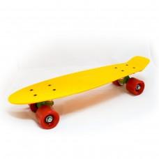 Mini Cruiser galben-verde-rosu