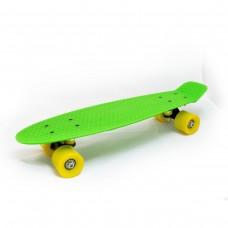 Mini Cruiser verde-negru-galben