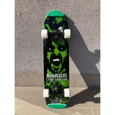 PLACA NEVER ENOUGH PRO MODEL MARIUS CONSTANTIN SINGLE KICK VAMPIR