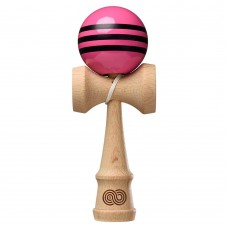 Kendama KAIZEN TRIPLE STRIPE - PINK WITH BLACK