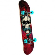 Placa completa POWELL PERALTA SKULL AND SNAKE COSMIC RED  7.6