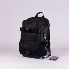 RUCSAC HYDROPONIC BG KENTER CANVAS BLACK / FL BLACK