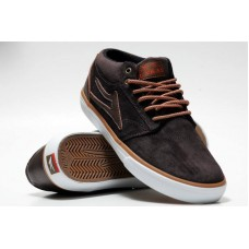 LAKAI - GRIFFIN MID AW - COFFEE OILED SUEDE