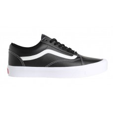 VANS OLD SKOOL LITE (CLASSIC TUMBLE) BLACK / TRUE WHITE