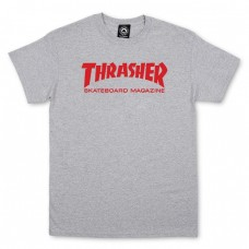 TRICOU THRASHER SKATE MAG GREY - RED