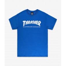Tricou Thrasher Magazine Skate Mag Royal Blue