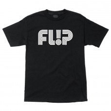 Tricou FLIP ODYSSEY TUBE LOGO T-SHIRT BLACK