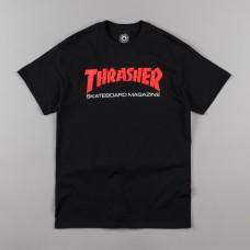 Tricou THRASHER TWO TONE SKATE MAG BLACK