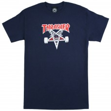 Tricou THRASHER TWO-TONE SKATE GOAT NAVY