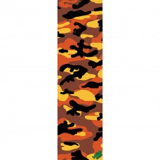 GRIPTAPE MOB CAMO ORANGE  9x33 INCH