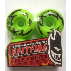 ROTI SPITFIRE LIVE TO BURN GREEN 52mm